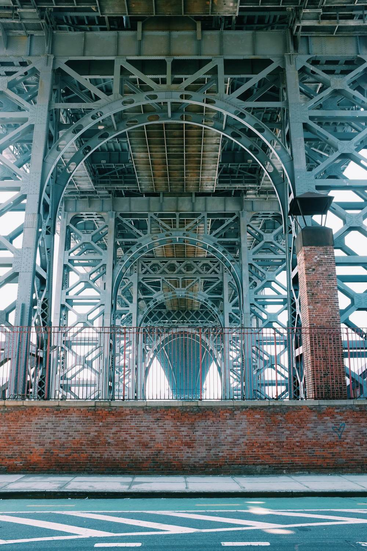 Sous le pont de Wiiliamsburg
