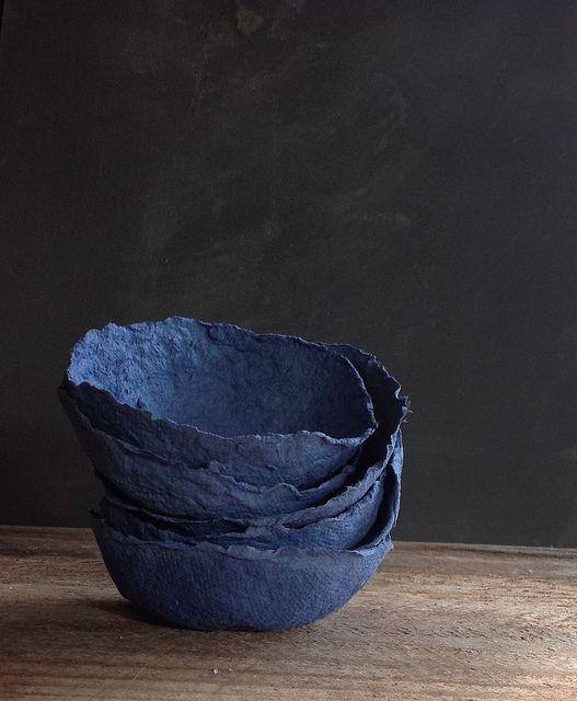 Yuniko studio - Paper mache bowl