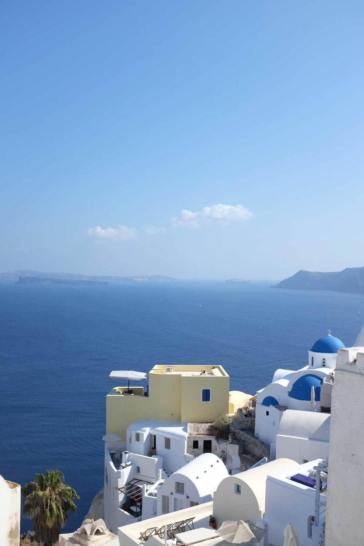 Oia, Santorin, les cyclades, Grèce