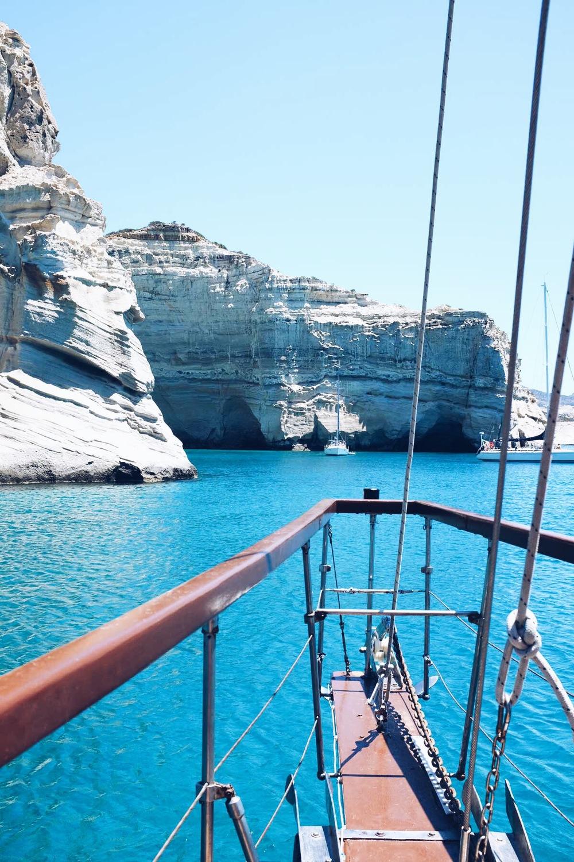 Kleftiko, Milos, les cyclades, Grèce