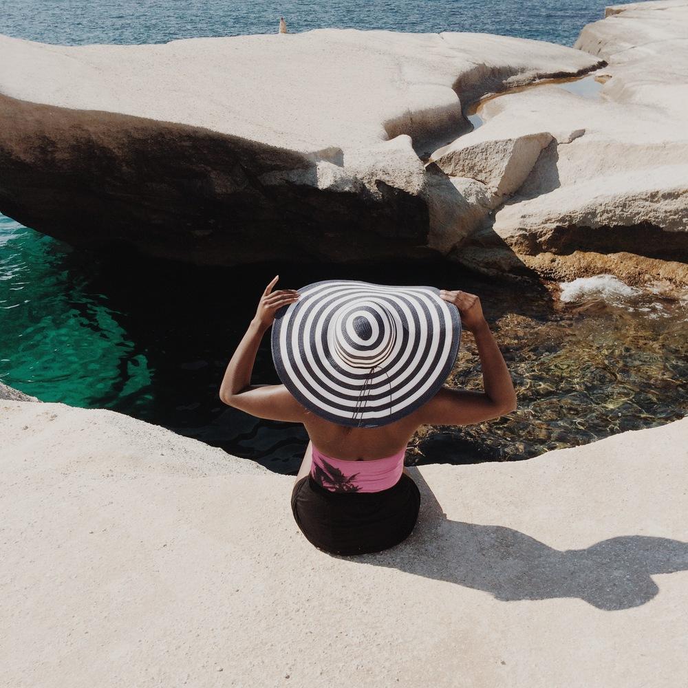 Sarakiniko Beach, Milos, les clyclades, Grèce