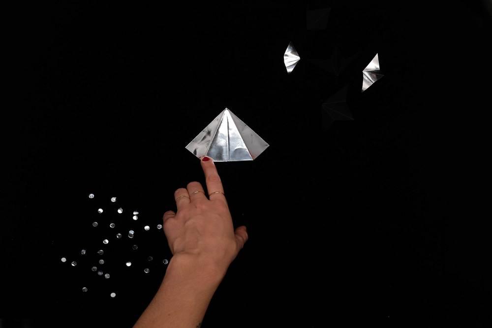 10. Ouvrir les côtés du triangle
