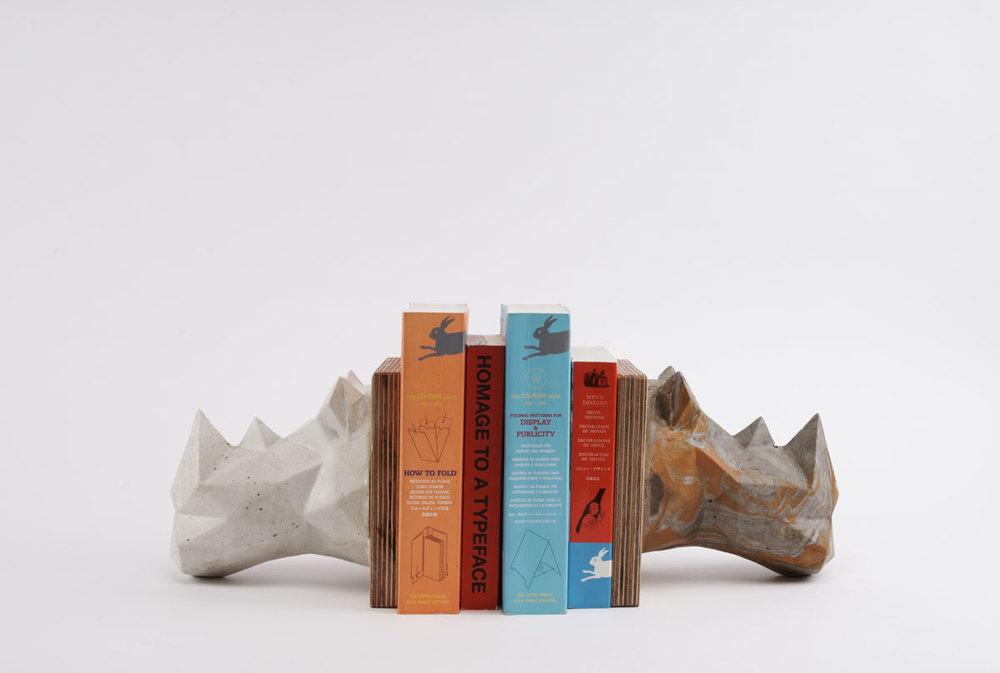 Collection d'objets en béton Concrete Animalz