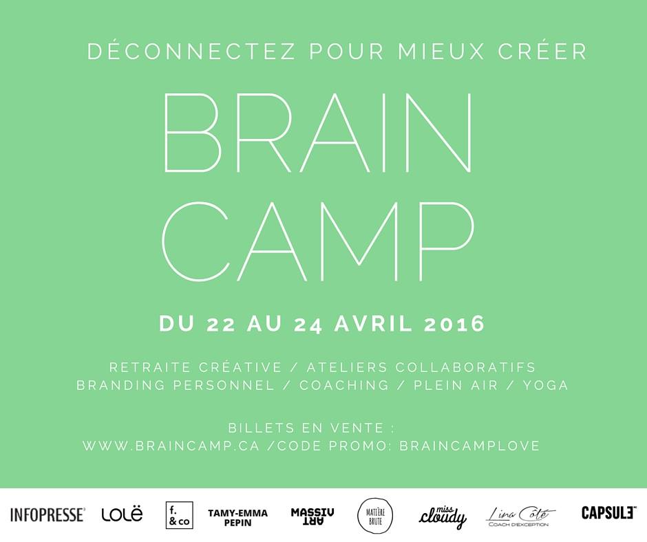 miss cloudy x le braincamp retraite cr�ative creative camp