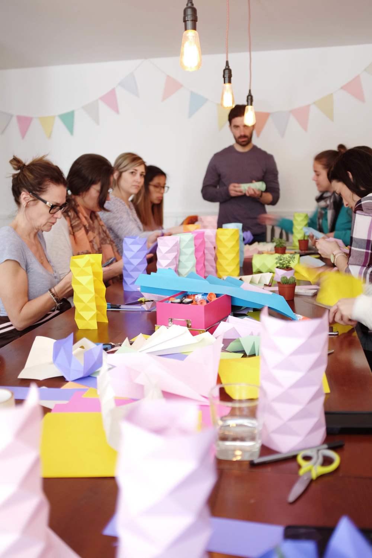 miss cloudy origami workshop atelier braincamp camp creatif creative retreat