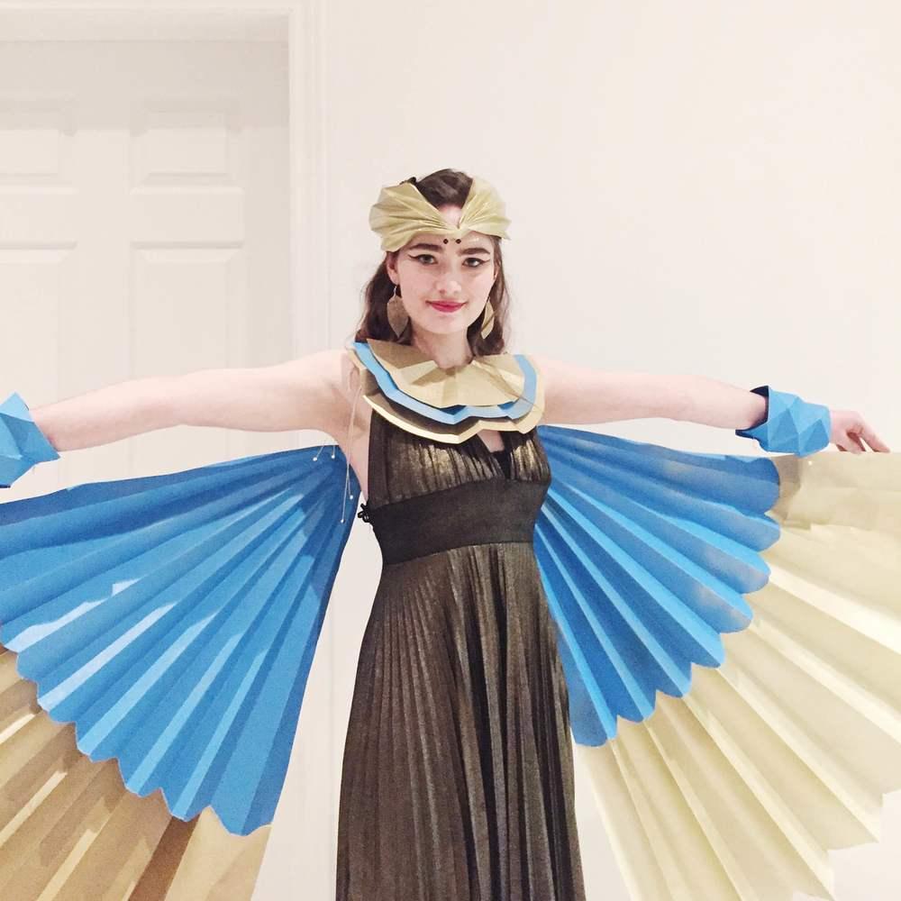 miss cloudy origami projet la tank fashion fold