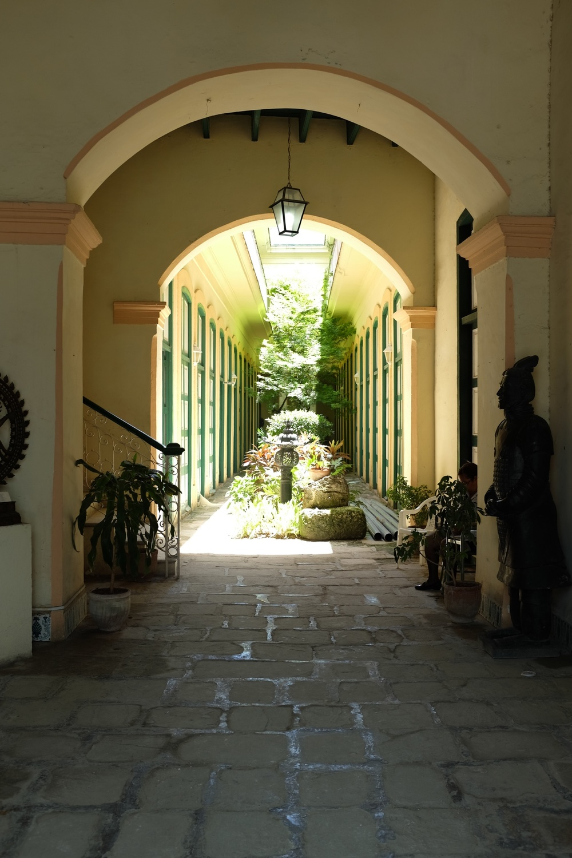 Les jardins cachés de la Havana Vieja.