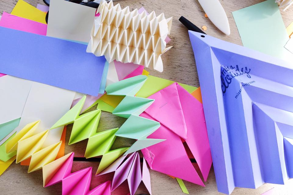 miss cloudy origami folding workshop atelier montreal