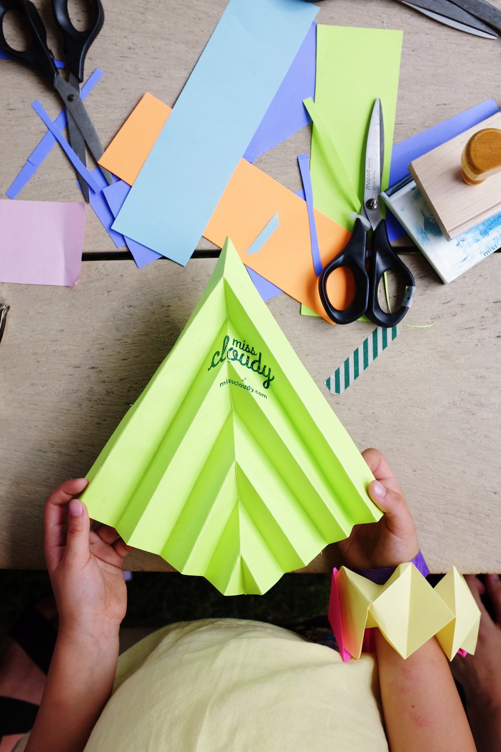 miss cloudy origami and folding workshop for beginner montreal jardins gamelin