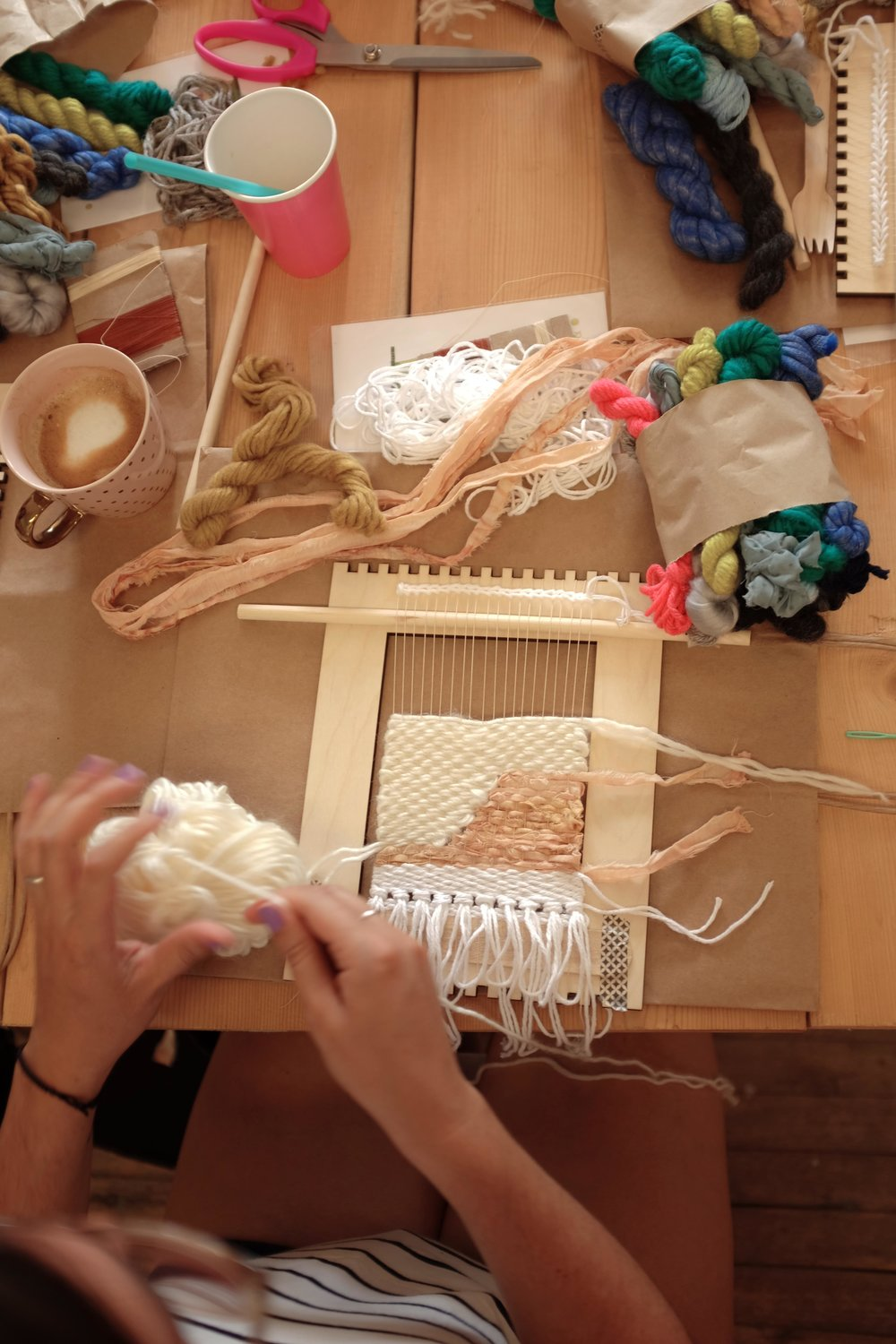 Miss Cloudy Weaving Workshop Montreal