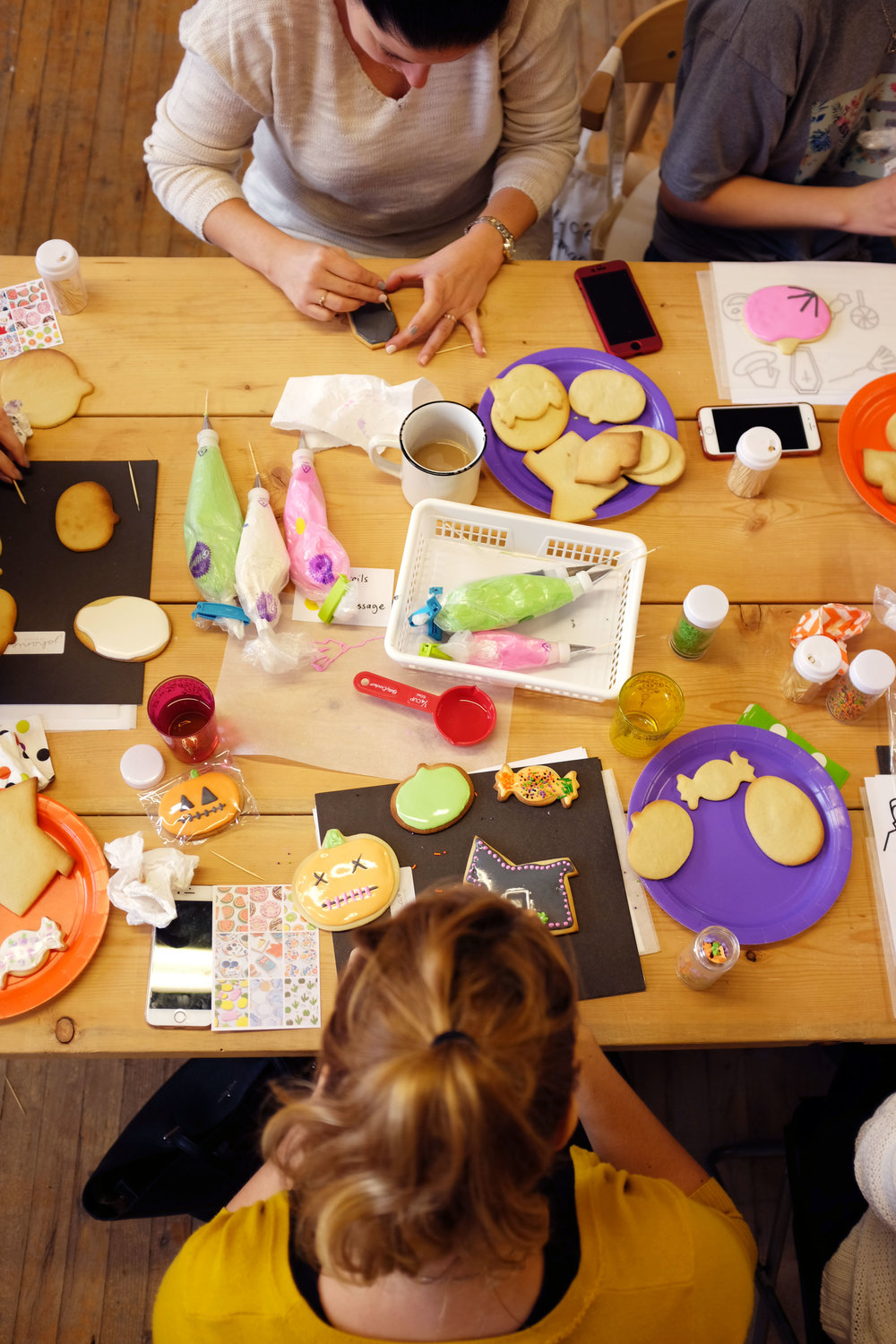 miss cloudy cookie decoration workshop montreal