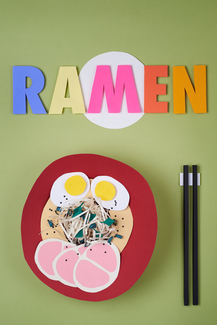 Ramen paper bowl