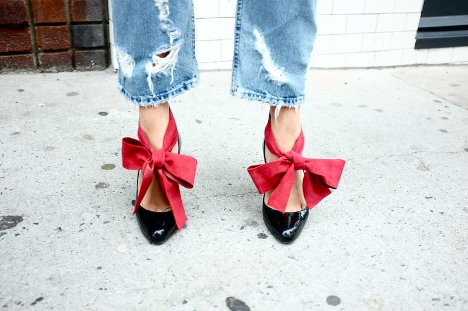 Chloe Bow Heels
