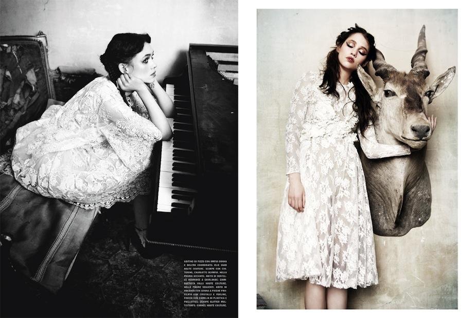 Astrid Bergès-Frisbey by Ellen von Unwerth (Gleaming Mermaid - Vogue Italia March 2012) 8.jpg