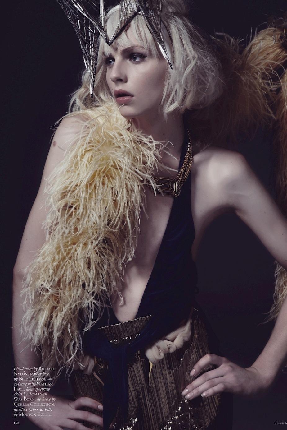 Andrej Pejic by Mariah Jelena (My People Were Fair And Had Sky In Their Hair - Black #16 Spring-Summ (4).jpg