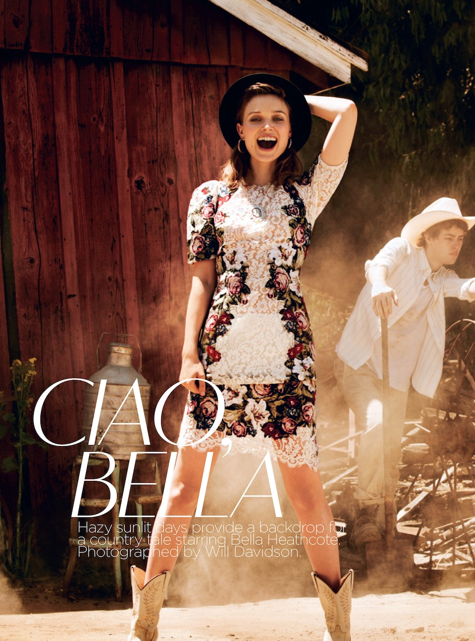 Bella Heathcote by Will Davidson (Ciao Bella - Vogue Australia September 2012) 1.jpeg