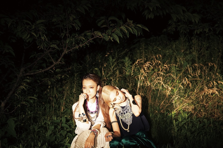 Mai Takahashi & Eriko Nakao by Isobe Akiko (Headlight Delight - Ginza Japan August 2012).jpeg