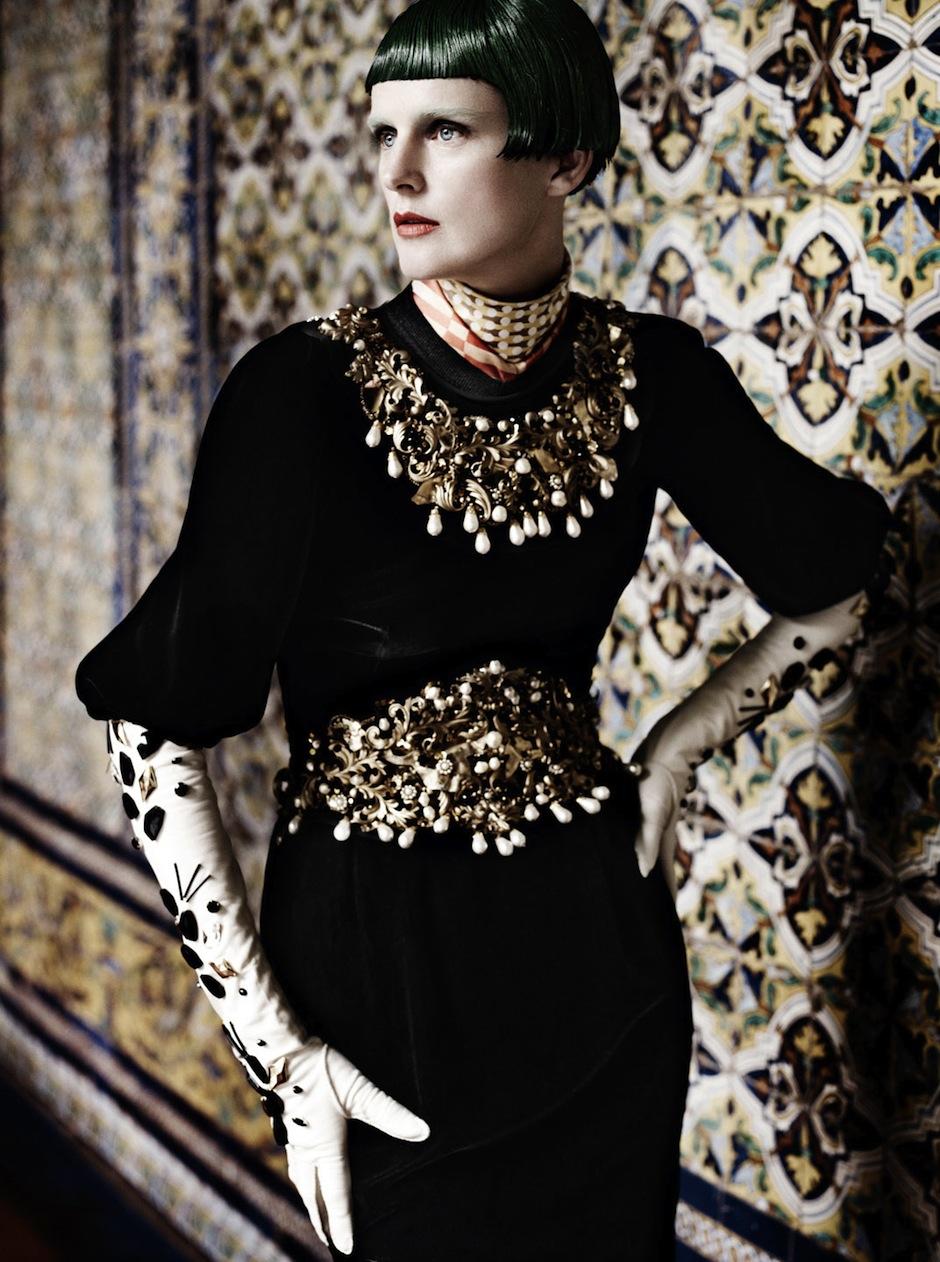 Stella Tennant by Mario Testino (El Dorado - US Vogue September 2012) 10.jpeg