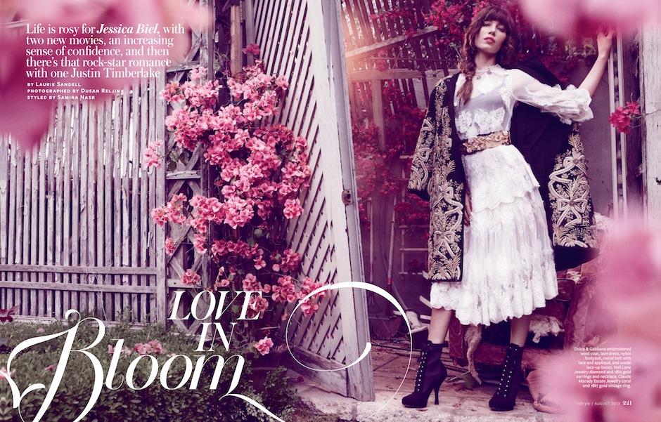 Jessica Biel by Dusan Reljin (Love In Bloom - US InStyle August 2012) 1.jpeg