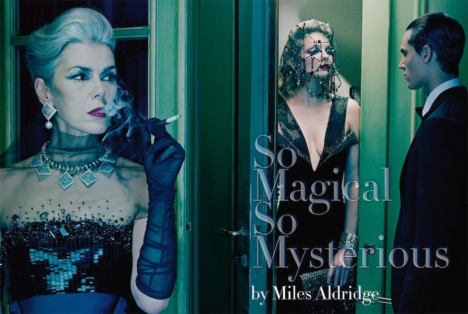 Eniko Mihalik by Miles Aldridge (So Magical, So Mysterious - Vogue Italia September 2012) 1.jpeg