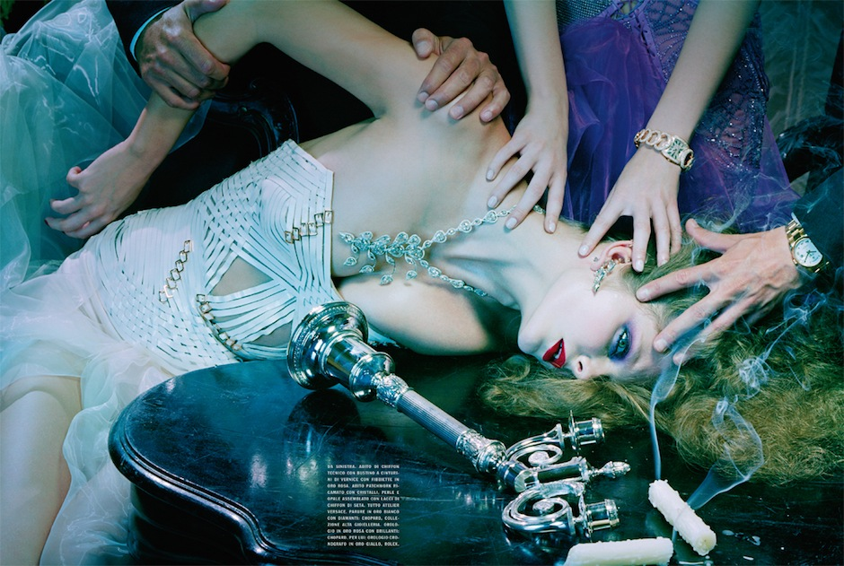 Eniko Mihalik by Miles Aldridge (So Magical, So Mysterious - Vogue Italia September 2012) 7.jpeg