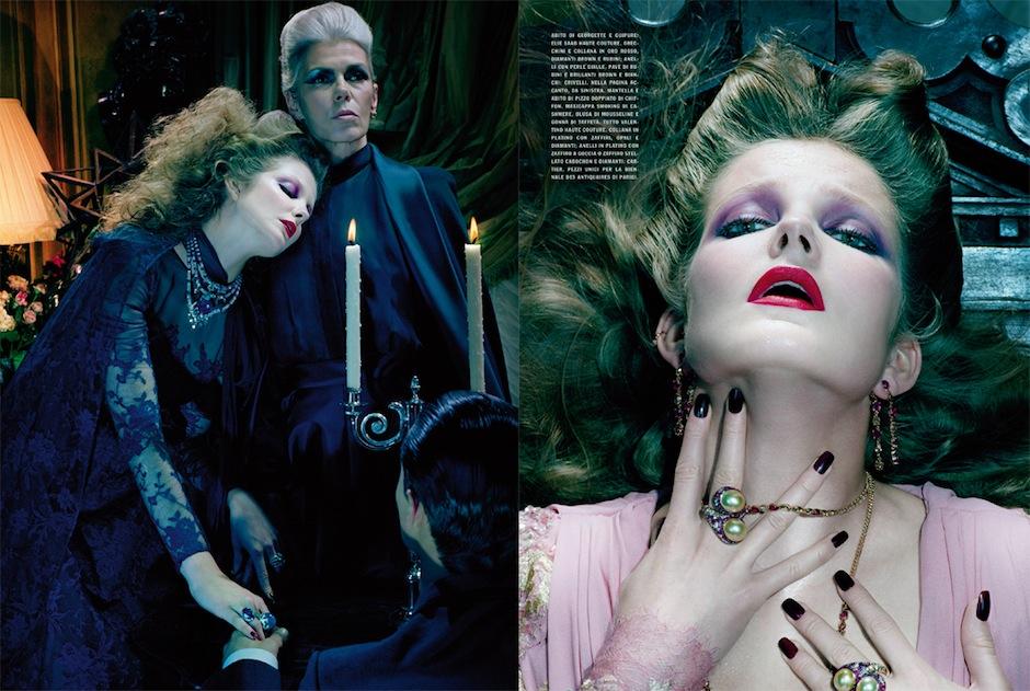 Eniko Mihalik by Miles Aldridge (So Magical, So Mysterious - Vogue Italia September 2012) 11.jpeg