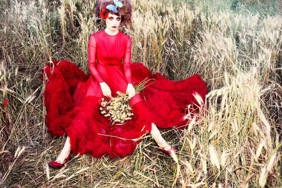 Déborah François by Ellen von Unwerth (Indian Summer - Vogue Italia September 2012) 2.jpeg