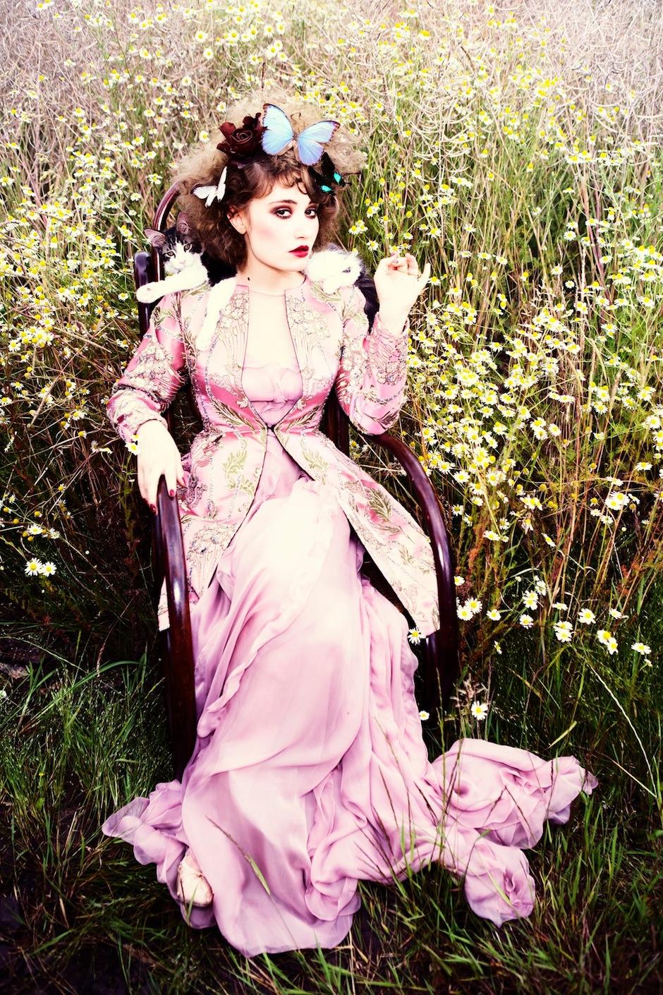 Déborah François by Ellen von Unwerth (Indian Summer - Vogue Italia September 2012) 6.jpeg