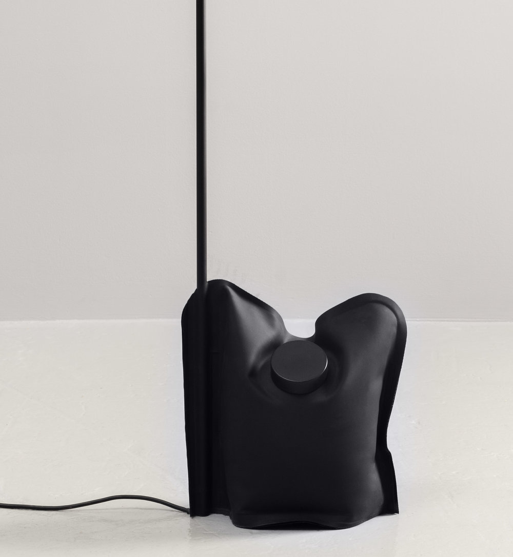 Knauf and Brown's flat pack lamp.