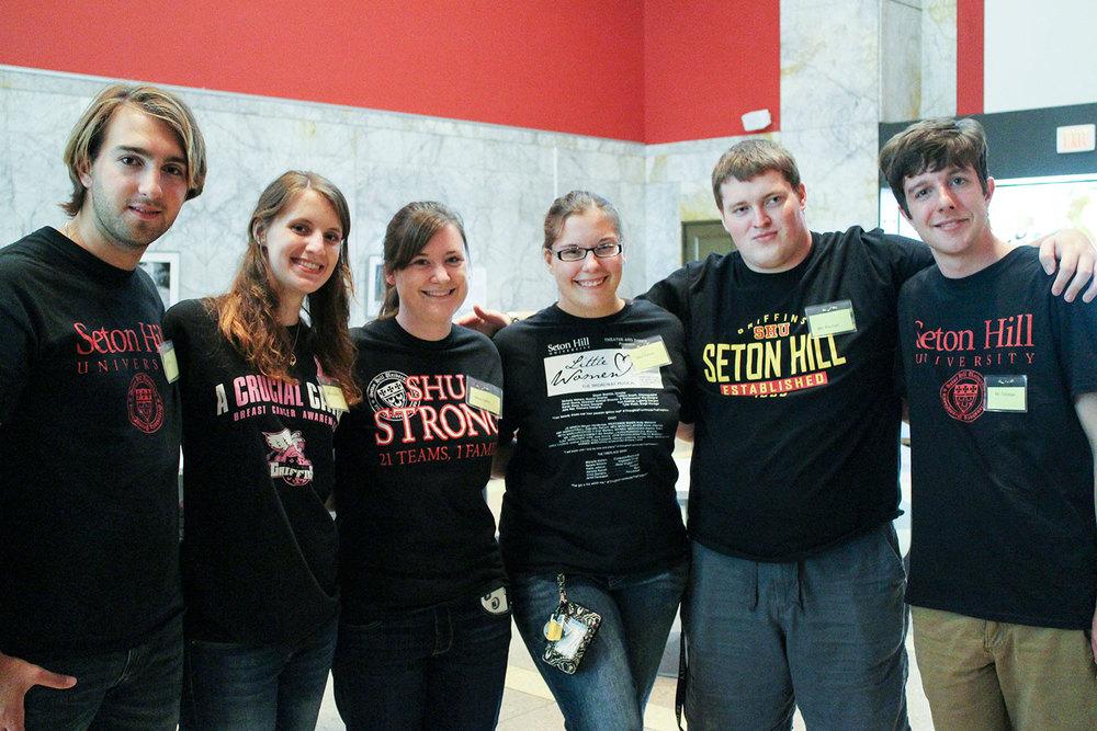 Summer 2014 Seton Arts Scholars