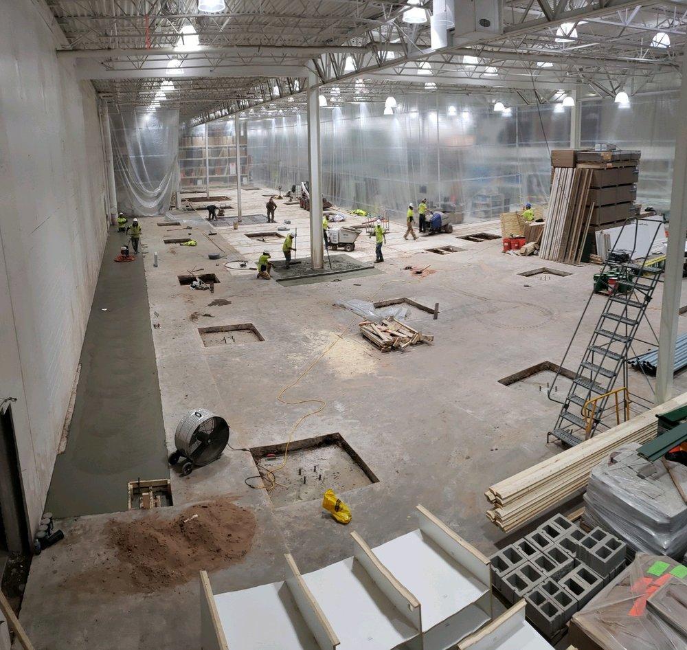 Working in Marquette MI at Menards. -