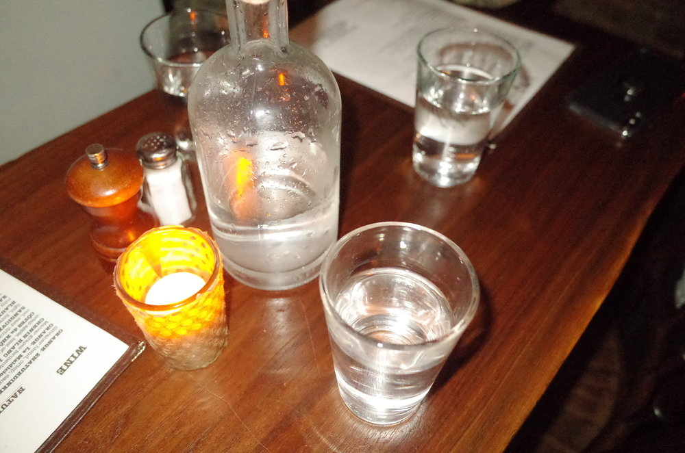 Y/N - before the drinks