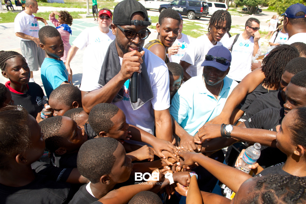 Changing the Game   with Dwyane Wade & Sandals Foundation.   Game Changer