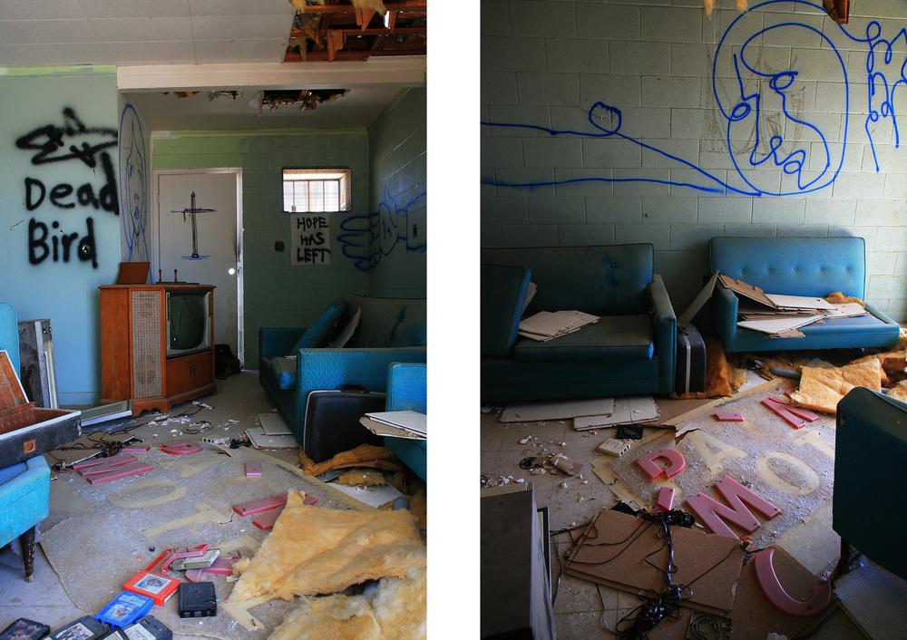 Hope Has Left. Palms Motel, Desert Shores