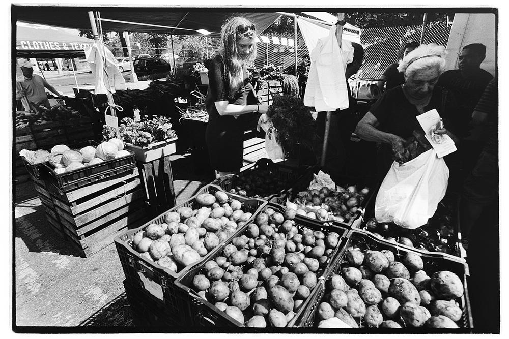 Inwood Farmers Market, Isham St.