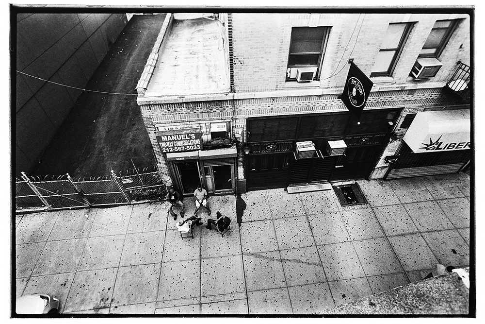 Men Having Drinks, 10th Ave off 215th St. Station