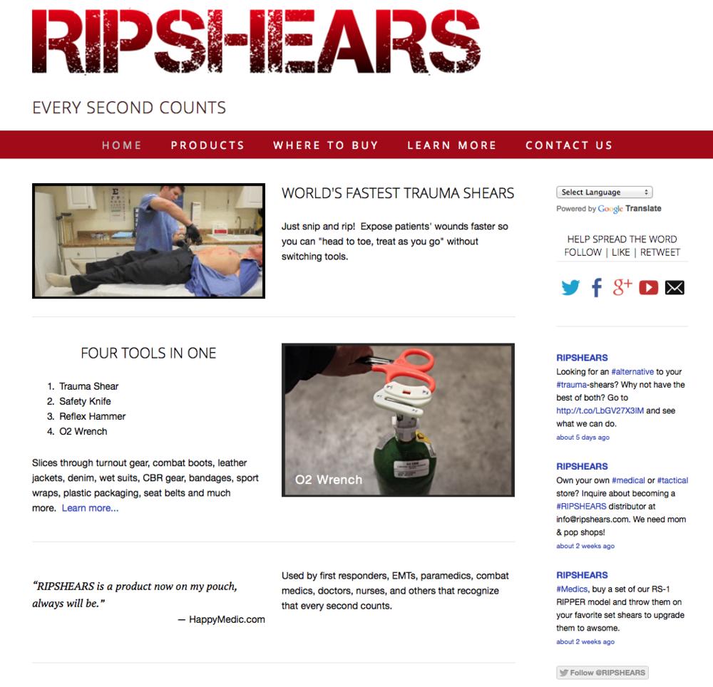 ripshears-website