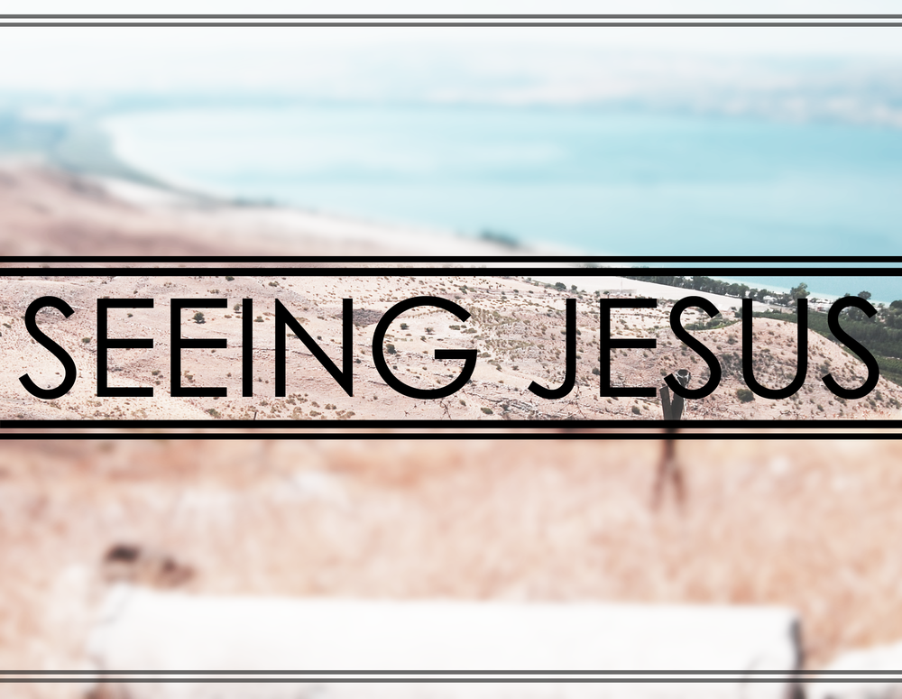 Seeing Jesus 1