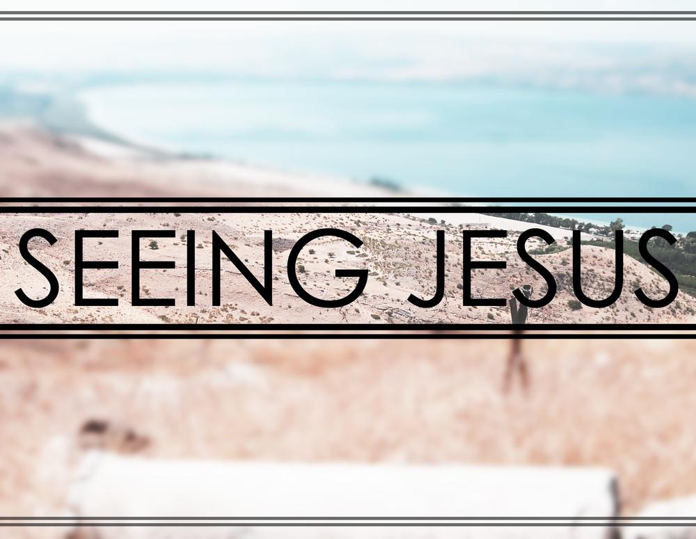 Seeing Jesus 1