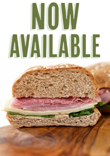 Ready for a fresh and healthy lunch? Find out about our new choices in Sandwiches.