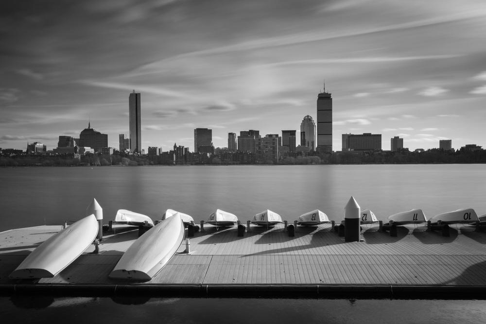 Boston Skyline Day