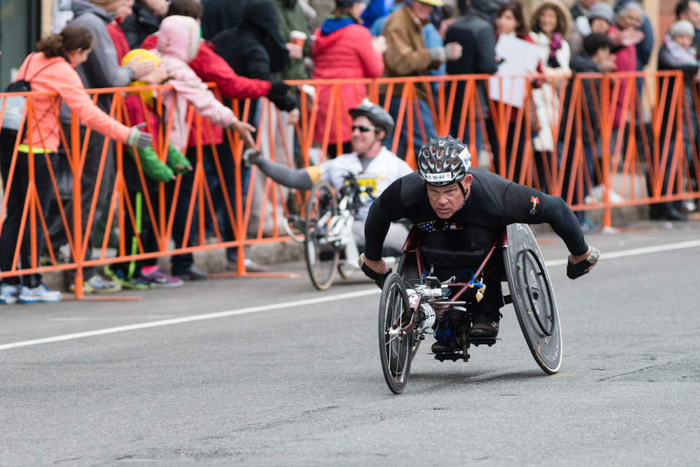 Wheelchair Marathoners