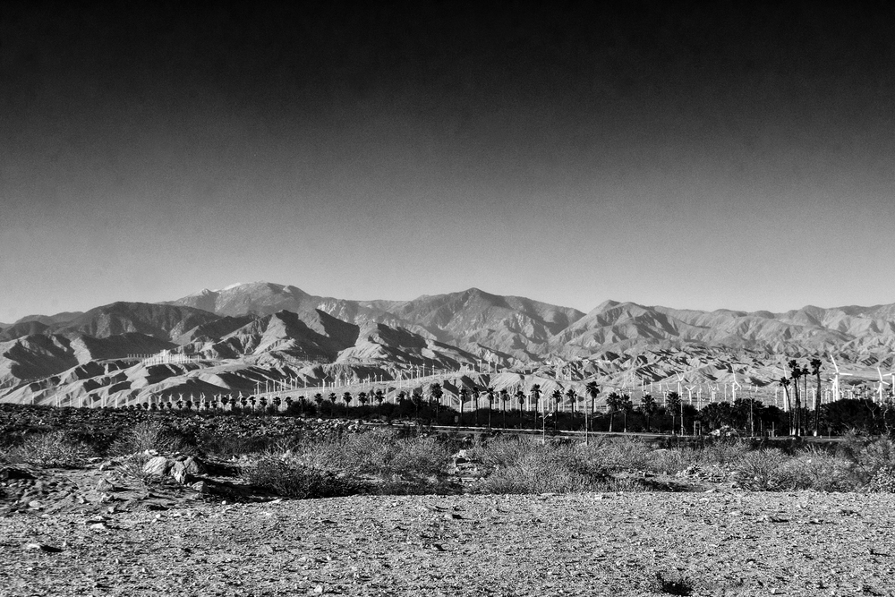 Wind Turbines, Palm Springs, CA