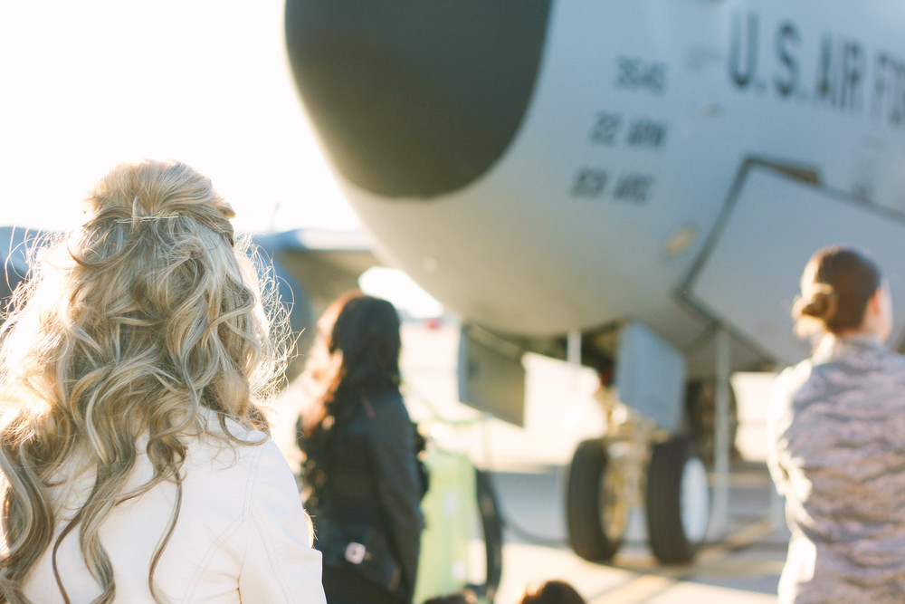 Air Force Homecoming | Mallorie Owens