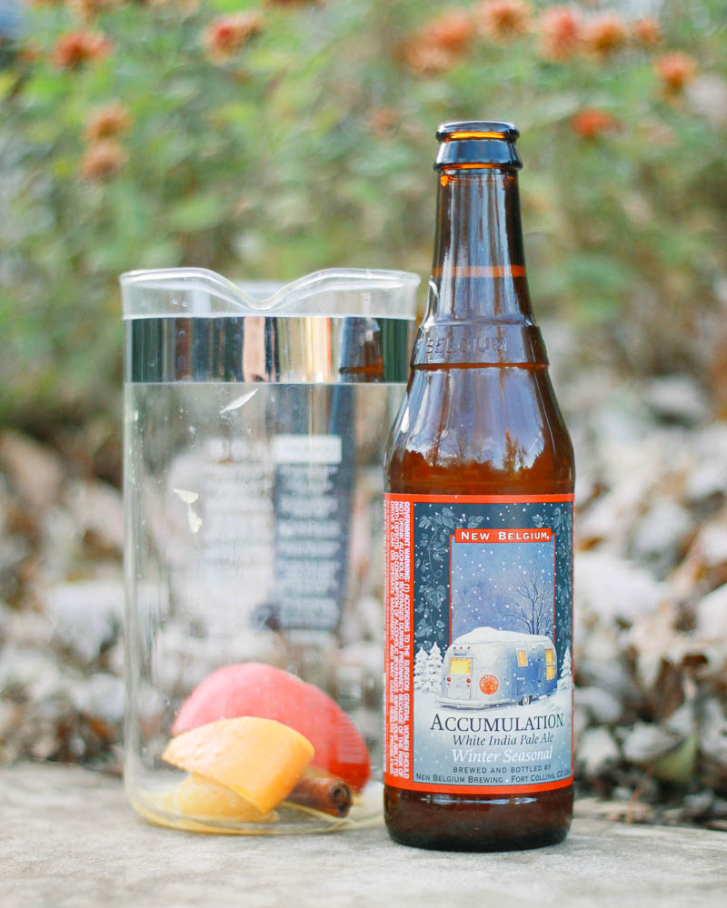 Fall Infused Beer Recipe | MALLORIE OWENS