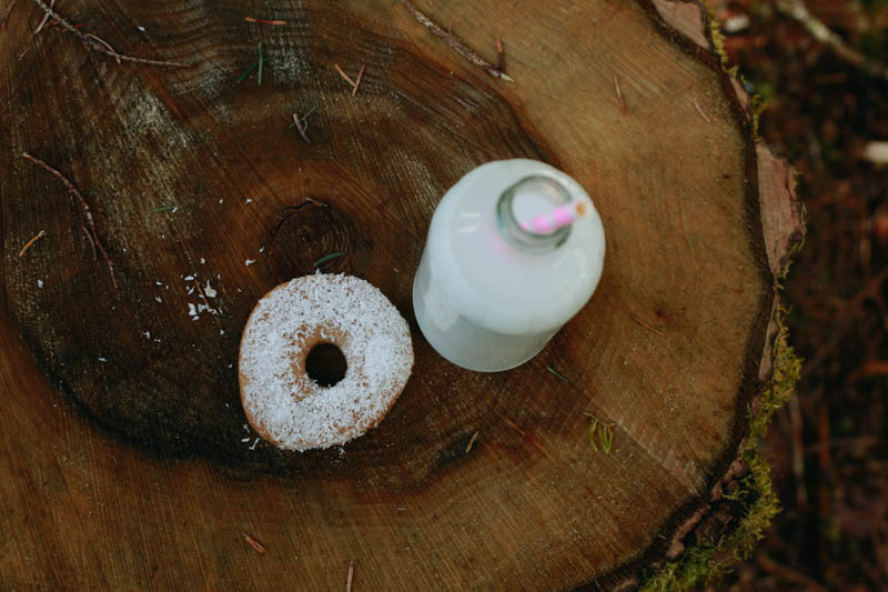 Coconut Baked Doughnut | Mallorie Owens