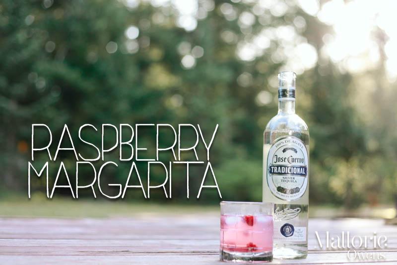 Skinny Raspberry Margarita Recipe | Mallorie Owens