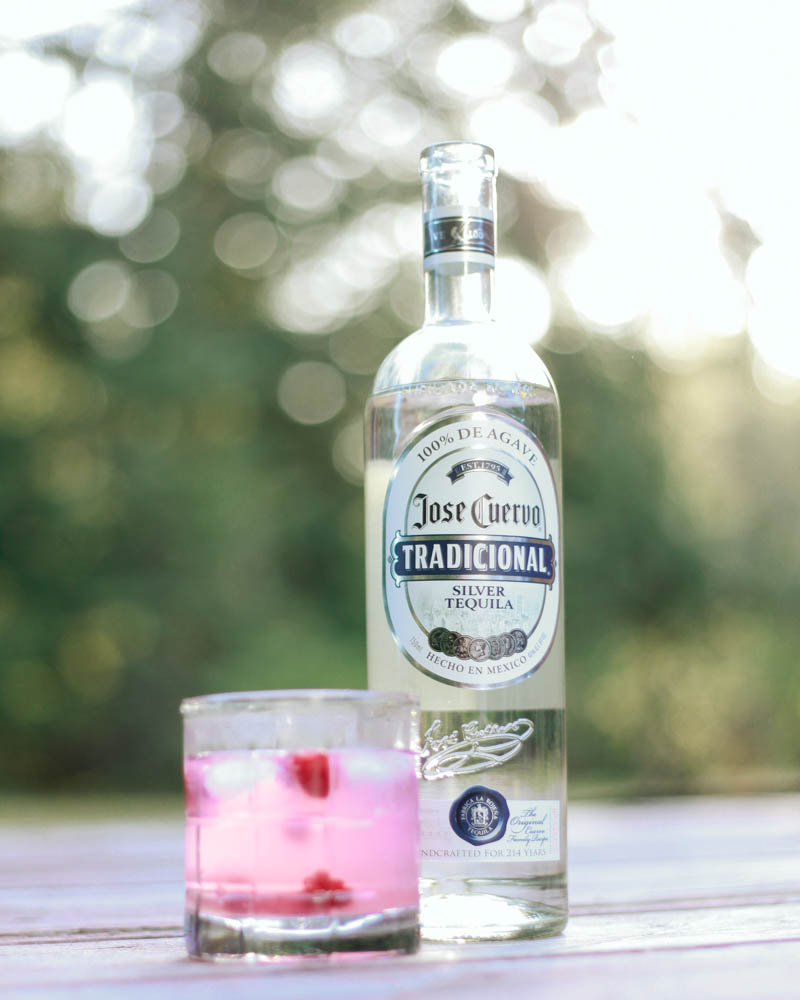 Skinny Raspberry Margarita with Jose Cuervo Tradicional | Mallorie Owens