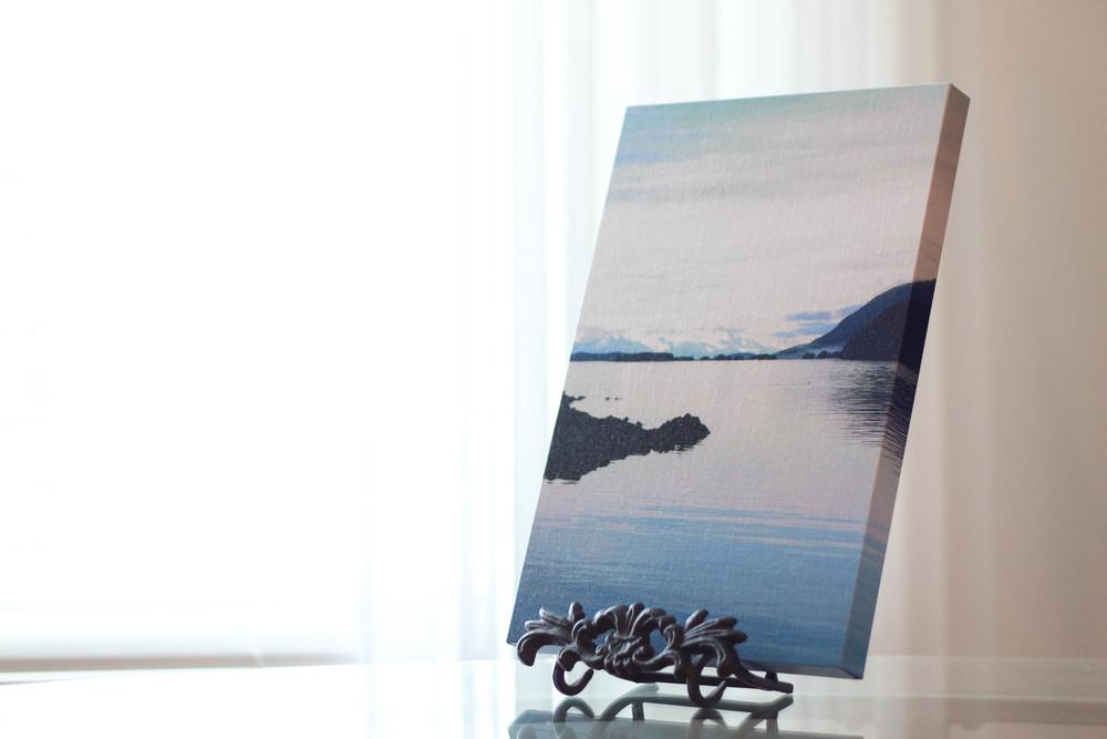Juneau, Alaska Coast 11x14 Canvas | MALLORIE OWENS