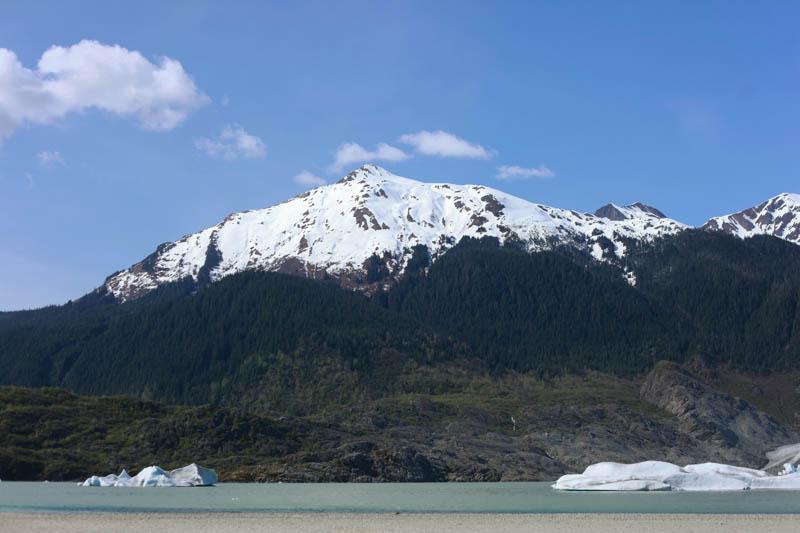 Juneau Alaska Travel ↠ Nugget Falls | Mallorie Owens